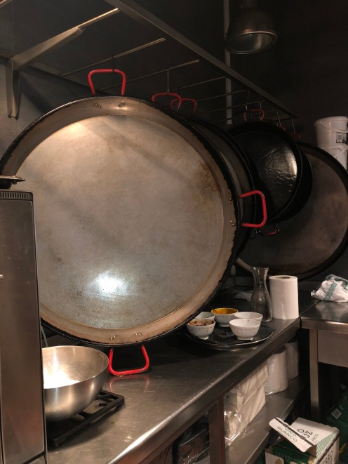 have you seen a paella pan this size?